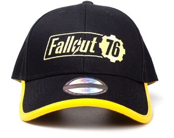 FALLOUT 76 Baseball Cap Strapback Hat Embroidered Logo Gaming Gift e26b68fb315a