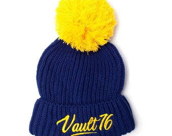 Official FALLOUT 76 Bobble Beanie Ski HAT Gaming Gift 1b2898df7edd