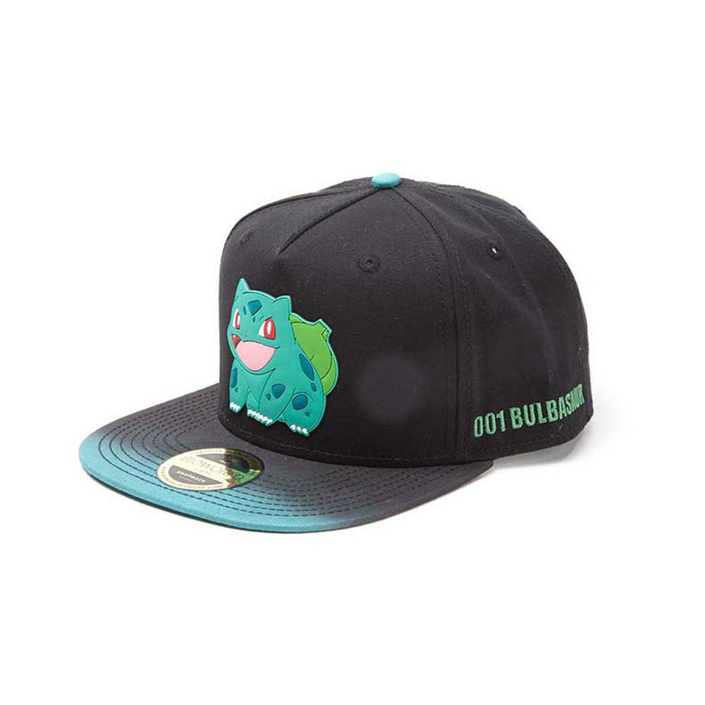 fa59bcfb016 POKEMON Baseball Cap Snapback Hat Bulbasaur Quality Gaming