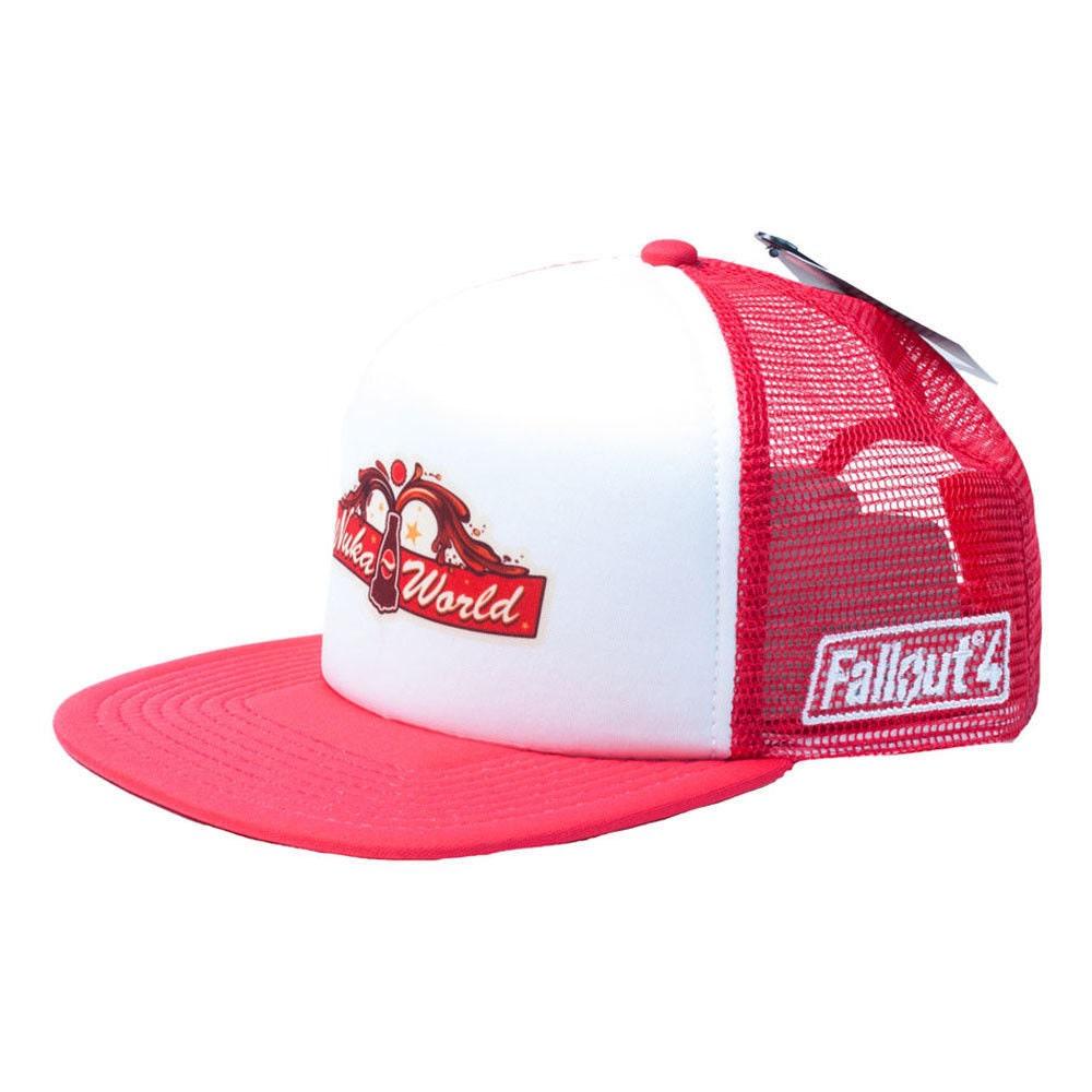 aaa623e6f51409 FALL OUT 4 Baseball Trucker Cap Snapback Hat Nuka World Gaming | Etsy