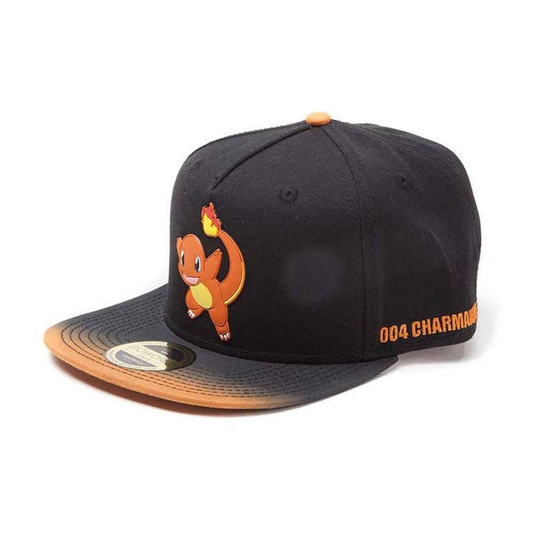 POKEMON Baseball Cap Snapback Hat Charmander Quality Gaming  76b582bc97db