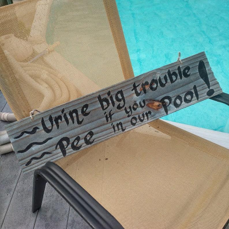 Urine Big Trouble si vous faire pipi dans notre décor de | Etsy