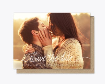 In Love Photo Save the Date Printable