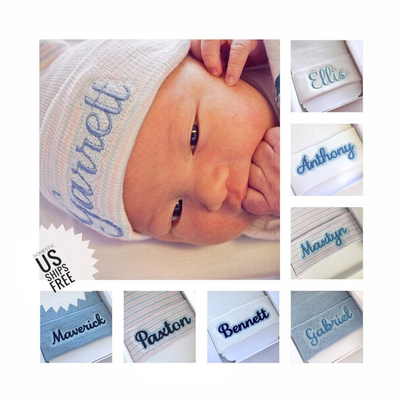 3735a184362 Newborn boy hat coming home outfit hat baby boy hospital