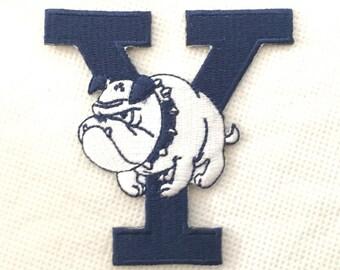 93485d0ce0d Vintage Yale Bulldogs Patch   Vintage Yale University Patch