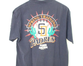 San Diego Padres 90s T Shirt   Vintage 90s Cactus League Shirt   Vintage  Padres Shirt   Size Large Vintage 90s T Shirt 5a531f5ac80f2