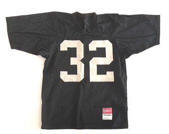 147bee4dbf7 LA Raiders Jersey McGregor Sandknit Authentic Stitched- Los Angeles Raiders  Marcus Allen 32 Football Jersey Stitched