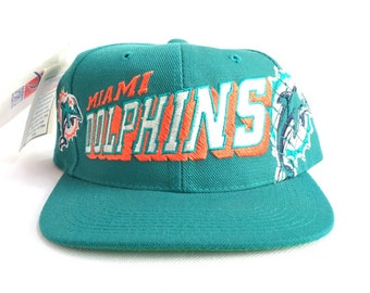 90s Snapback Miami Dolphins Sports Specialties Snapback Hat   Miami Dolphins  90s Snapback Sports Specialties New Deadstock NOS 253f9127d