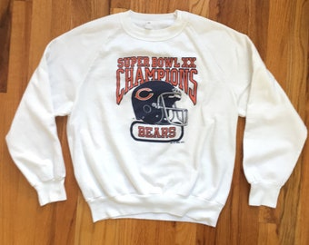 Vintage Sweatshirt   80s Vintage Chicago Bears Crewneck Sweatshirt   1985  Super Bowl XX Vintage Chicago Bears Sweatshirt Super Bowl Champion a419327cf