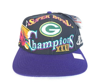 64823816ca7bf ... amazon 90s snapback vintage packers snapback vintage superbowl green  bay packers deadstock snapback hat 4ebfe 6f8f1