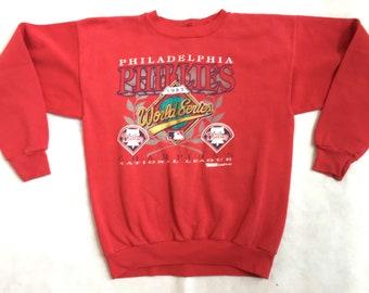 fd3b82502 90s Philadelphia Phillies Sweatshirt   1993 World Series Philadelphia  Phillies Vintage 90s Phillies Crewneck Sweatshirt