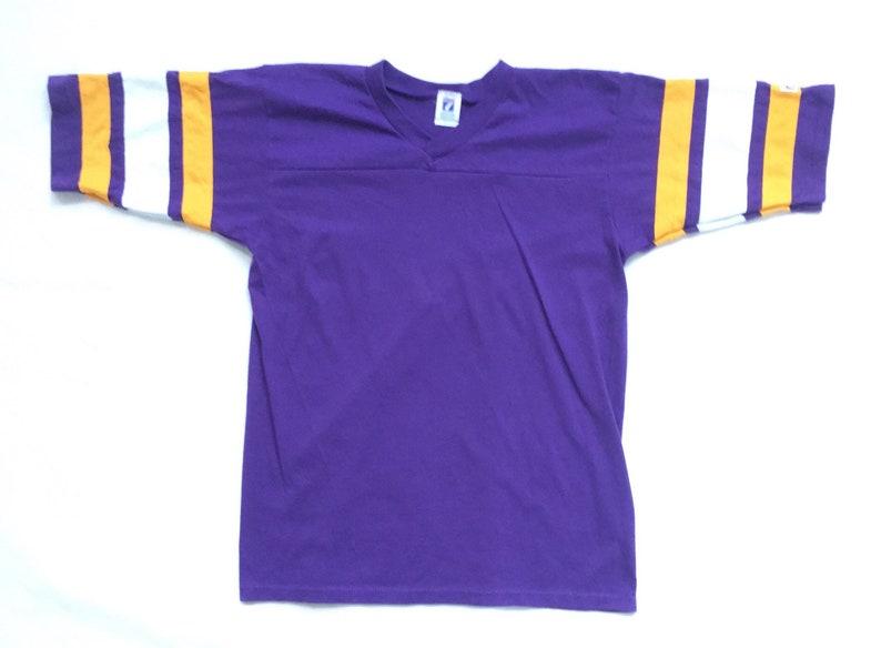 new arrival 80d57 a7f43 90s Vintage LSU T-Shirt / LSU Jersey T-Shirt Vintage Louisiana State  University Football /90s Logo 7