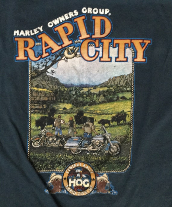 90s Harley Davidson T-shirt / Grand Rapids Harley
