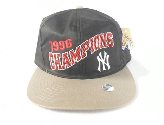 90s Snapback Vintage Yankees Snapback Hat 96 World Series  ba9f8ff2349