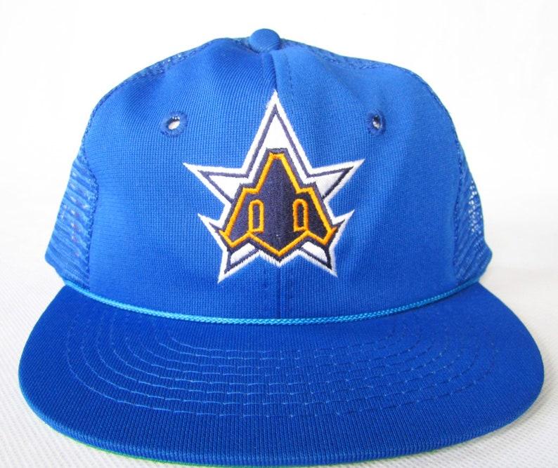 designer fashion 3d7ba 6bcc3 Vintage Seattle Mariners Hat   80s Mariners Hat   Vintage   Etsy