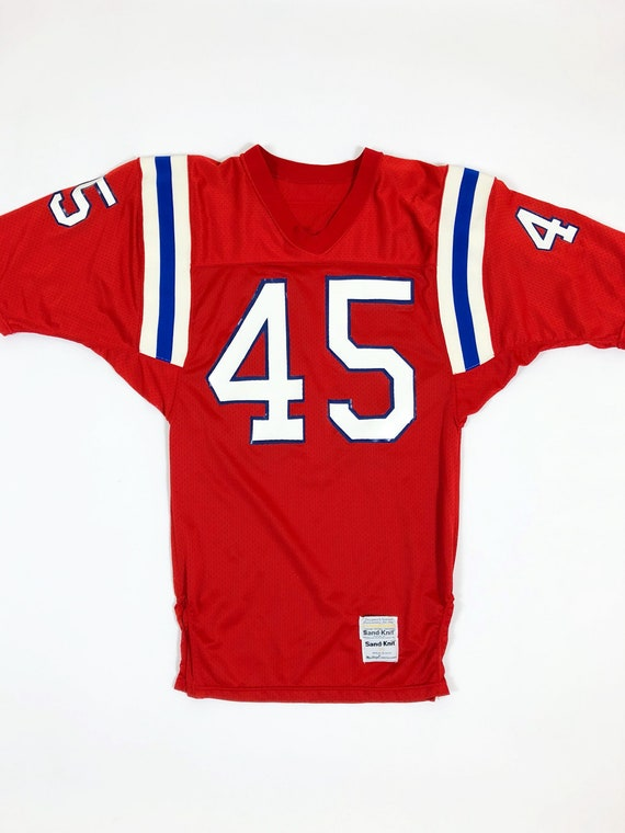 Vintage New England Patriots Jersey   Team Issued Patriots  ee508fd4e