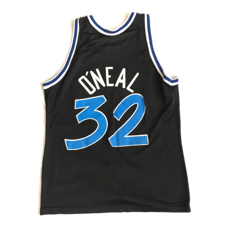 19003b73888 Vintage Shaq Orlando Magic Jersey 90s Vintage Champion