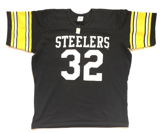 promo code 5e4bc 4e558 80s Jersey - Vintage Pittsburgh Steelers Jersey / Franco Harris Jersey 80s  Deadstock Football Jersey / Rawlings Football jersey