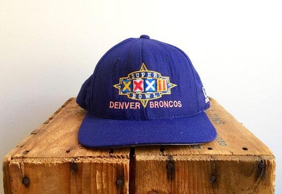 f3cb17ec172 90s Vintage Snapback   90s Super Bowl 1998 SuperBowl Denver