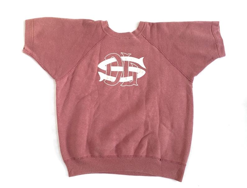 6753876a Champion Running Man Vintage Sweatshirt / 1960s Vintage Short | Etsy