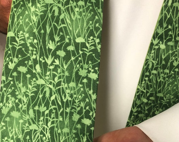 Tonal Meadow Clergy stoles, Green ordinary times stole, Green clergy stole, priest stole, green stole, G030