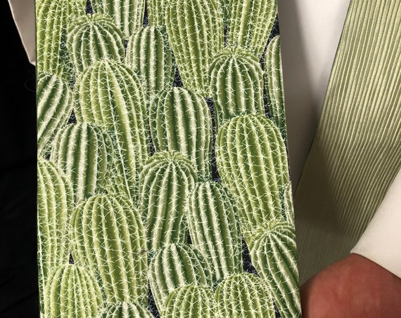 Green Clergy stoles, ordinary times, Cactus stole, Desert stole, clergy stole, priest stole, green stole, G027
