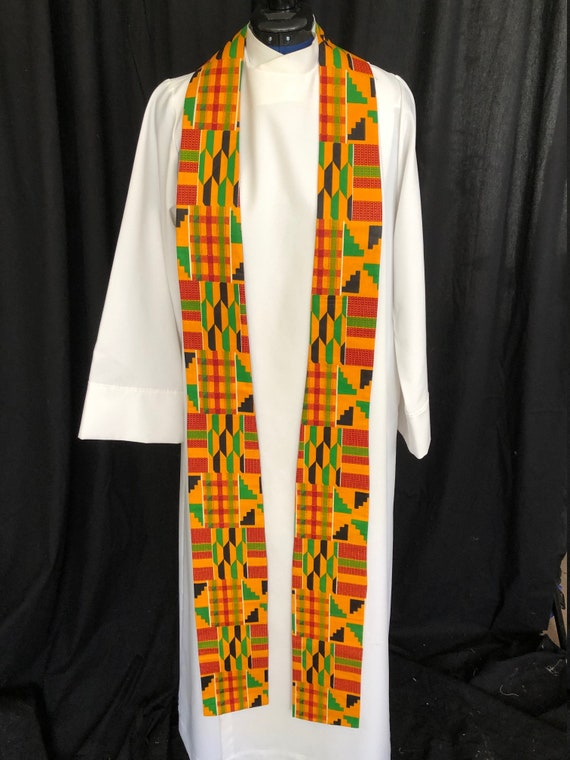 African clergy stole