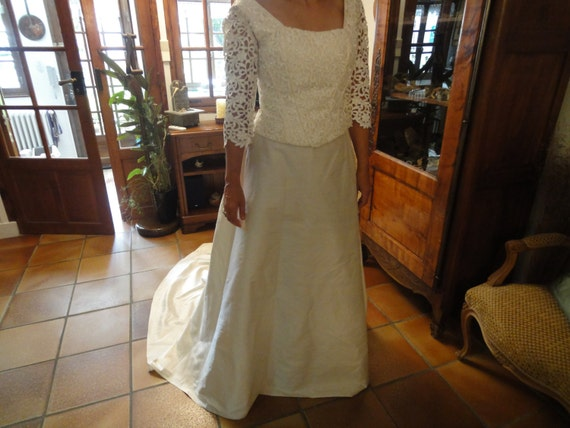 FRENCH WEDDING GOWN - image 2