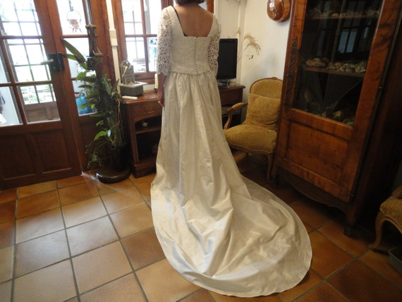 FRENCH WEDDING GOWN - image 3