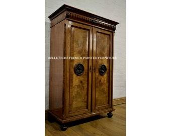 FOR SALE Outstanding French Breton Armoire - Ideal Linen / Larder Piece