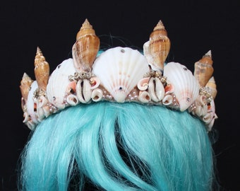 Cowrie Queen Mermaid Crown