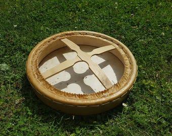 Shaman Drum , red deer skin , 40 cm diameter