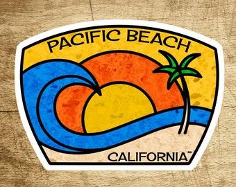 dfddcf081ec Pacific Beach California Decal Sticker 3.75