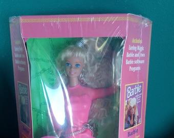 Mattel Vintage 1991 Earring Magic Software Pak Barbie Doll Blonde