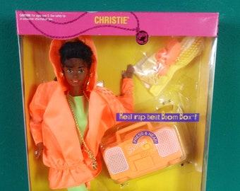 Mattel African American Rappin Rockin Christie Barbie Doll New in box Barbie Doll