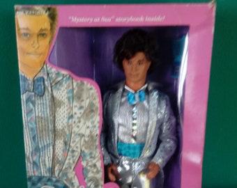 Mattel 1986 Jewel Secret Ken- Vintage Mattel Barbie Doll 1980's Barbie Doll