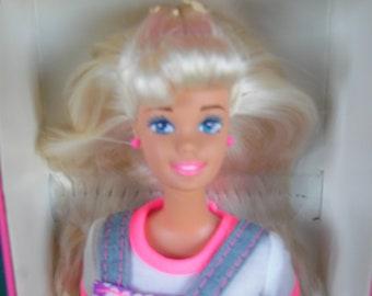 Mattel Barbie Doll Kool-Aid Wacky Warehouse Barbie Doll 1995