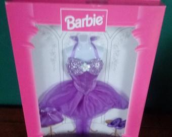 Mattel Vintage Fashion Avenue Vintage Barbie Clothes Purple Dress