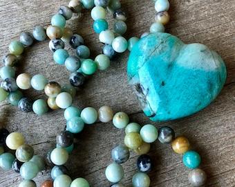 Amazonite Grounding Bracelet