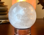 Serene Selenite sphere or...