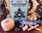 Meditation set with book,...