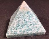 Amazonite pyramid crystal...