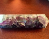 Fluorite crystal point ge...