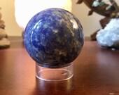Sodalite Sphere Crystal ball healing geode E1931