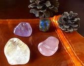 Uplifting pocket crystal stone set