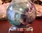 Beautiful Fluorite Sphere...