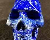 Lapis Lazuli Crystal Skul...