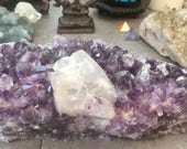 Brazilian amethyst with c...