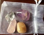 Sleep pocket crystal stone set