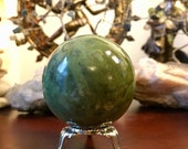 Gorgeous Jade sphere crys...